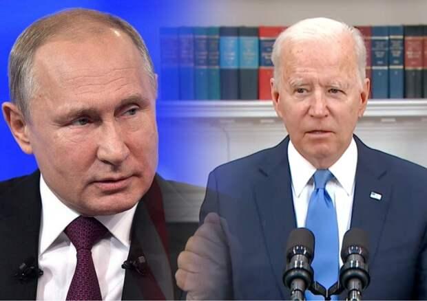 Каверзный вопрос журналиста о Путине заставил американцев усомниться в Байдене