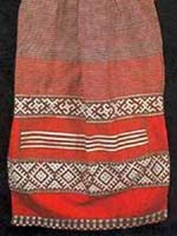 Свастика на сарафане