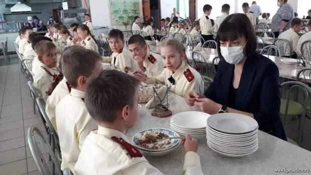 Лилия Загеева: «Мыпроконтролируем, чтобы увсех детей было качественное питание»