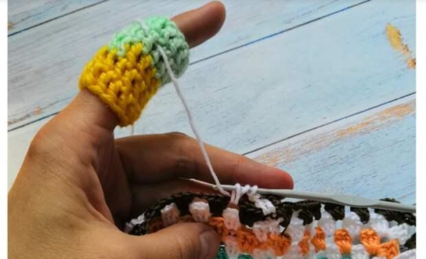 Напальчник для вязания