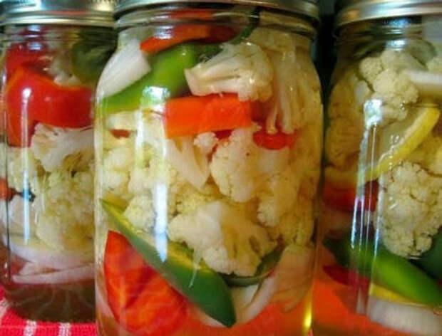 Все рецепты заготовок цветной капусты на зиму, маринование, засолка, квашение, салаты, по-корейски