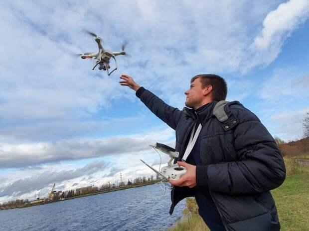 Инспекторы нашли самострой в Беговом с помощью дрона