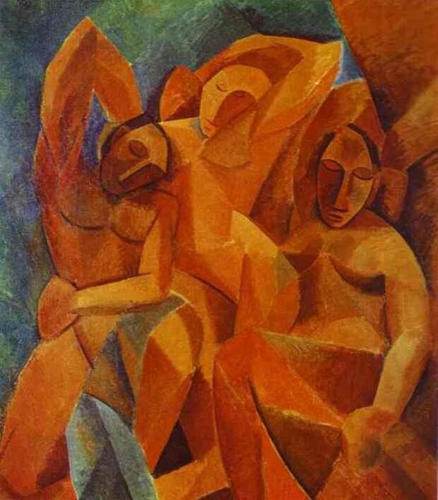 """Пабло Пикассо — """"Три женщины"""", 1908 год"""