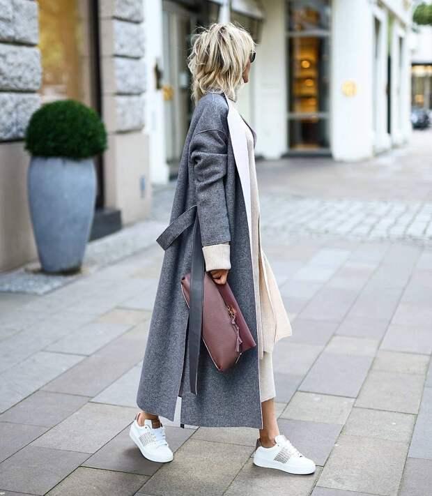 Тренды холодного сезона - длинное пальто. Самые актуальные модели на осень 2019 - зиму 2020