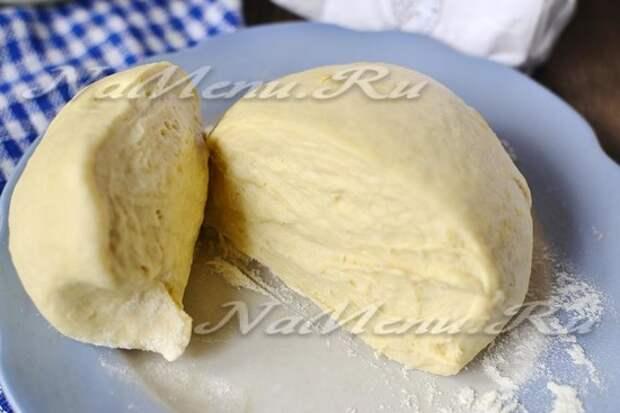 рецепт теста «как пух» на кефире для пирожков