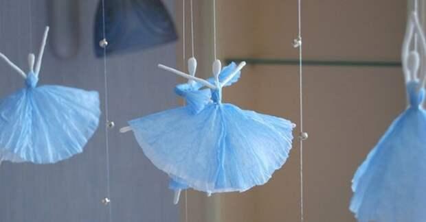 Завораживающие балерины-снежинки создадут ощущение праздника