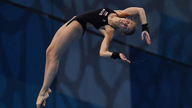 Россиянки завоевали золото и серебро ЧЕ в прыжках в воду с вышки