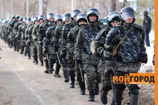 Передвижение людей и автотранспорта ограничат в Уральске из-за учений