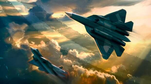 Новый комплекс РЭБ Су-57 превращает F-35 и F-22 в четвертое поколение самолетов...