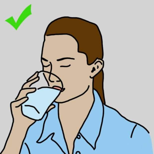 1. Пить теплую воду (да) запрет, продукты, советы