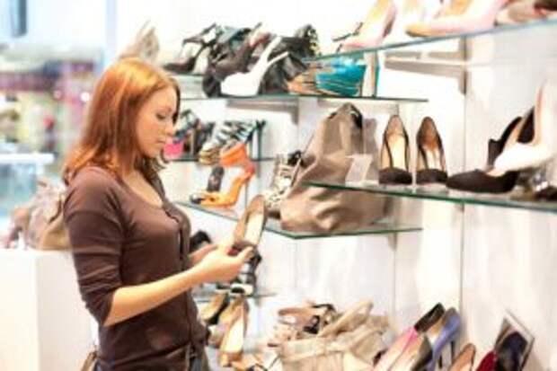 Разнообразие обуви в женском гардеробе