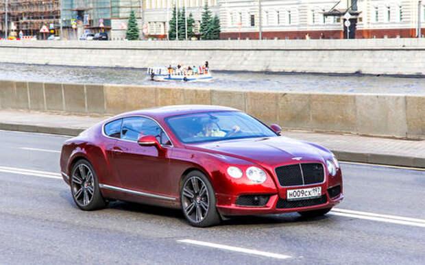 Богачи предпочитают Bentley. Рейтинг люксовых автомобилей