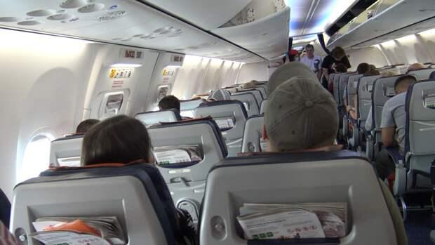 Украинские пассажиры на рейсе в Хургаду оставили кучи мусора в самолете