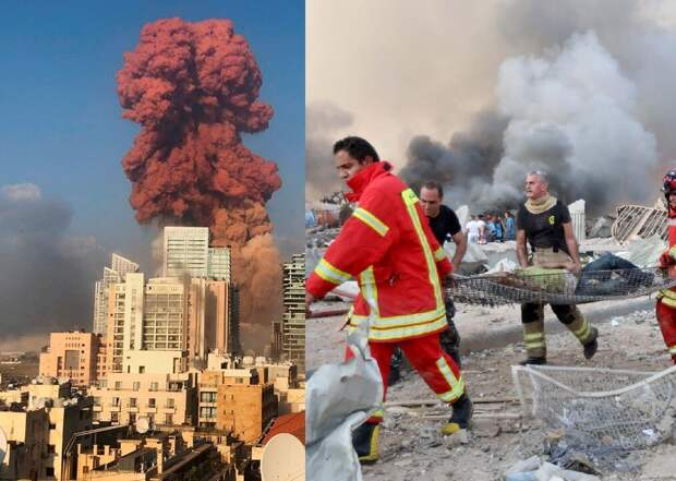 Трагедия в Бейруте: разрушен практически весь город