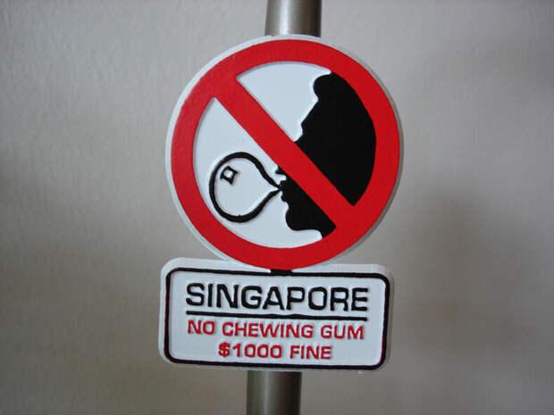 9 необычных и странных запретов в разных странах мира