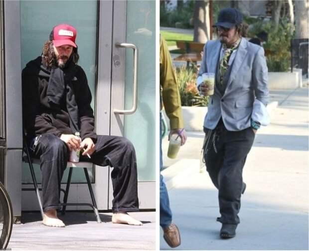 Звезды, которых на улице можно перепутать с бездомными