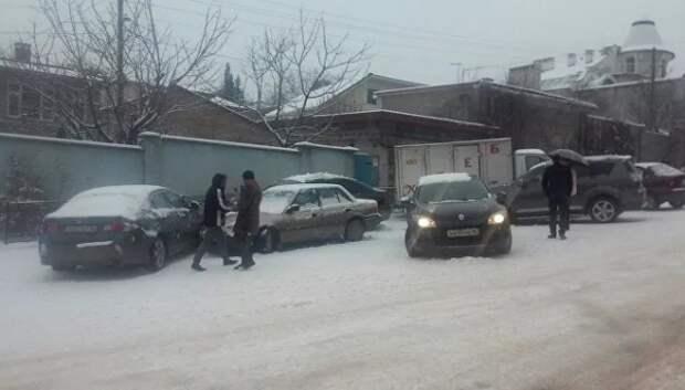 Массовое ДТП в Севастополе: столкнулись более десяти авто на улице Котовского (ФОТО)