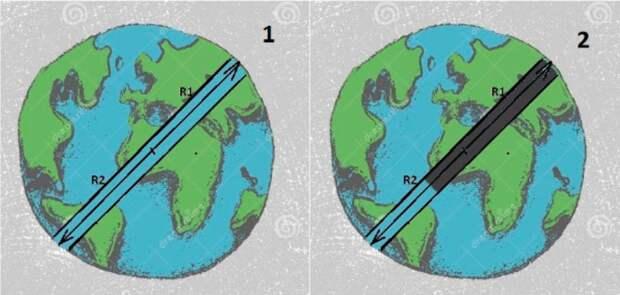 Что будет, если прокопать тоннель через центр Земли?