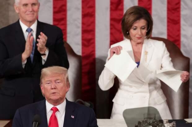 Страна Трампофобия – что импичнутые приписывают бывшему президенту