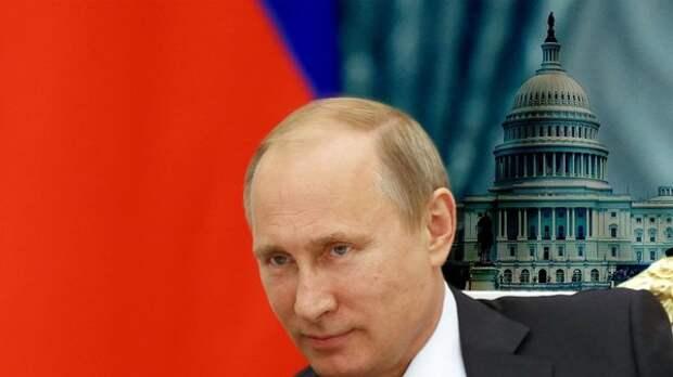 Путин с радостью примерит на себя кресло президента США в овальном кабинете. Фото: TheDailyBeast