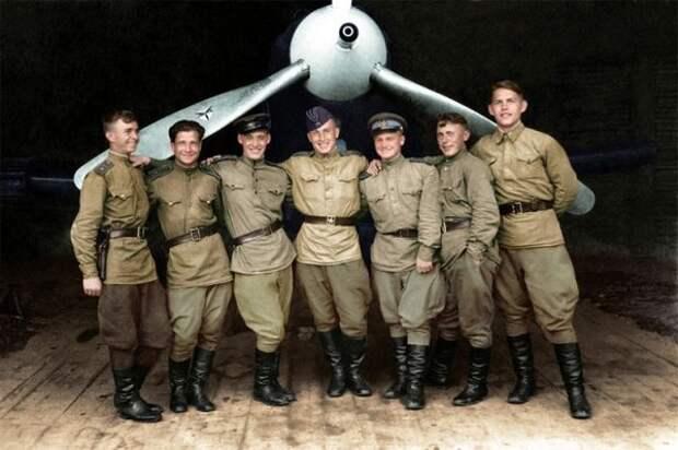Лицо войны: герои ВОВ на цветных фотографиях