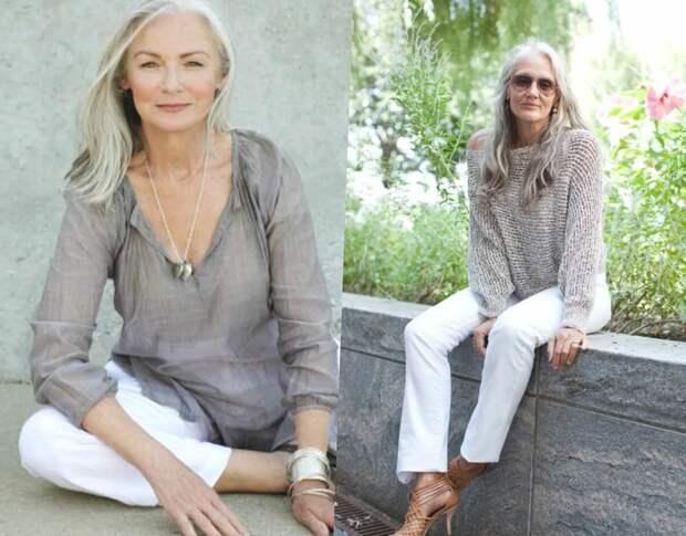 Как зрительно скинуть несколько лет при помощи одежды и обуви: 4 простых совета для леди 55+