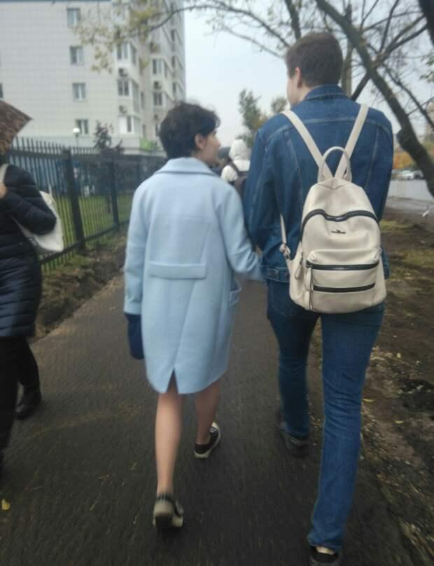 Интересное решение шлицы пальто