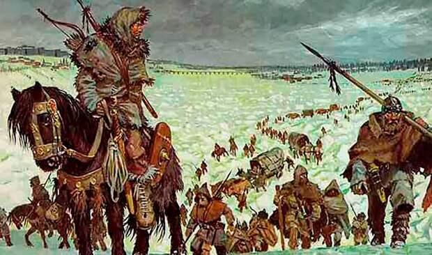 Великое переселение народов начинается