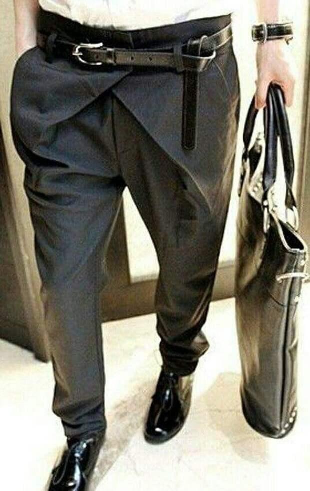 Мужские брюки (вершки)