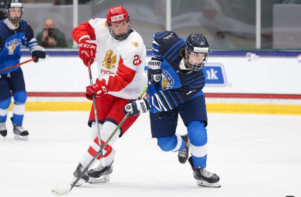 Тренер сборной России высказался о поражении от Финляндии на ЮЧМ-2021 по хоккею