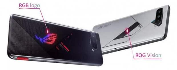 Представлены три модификации игрового смартфона ASUS ROG Phone 5