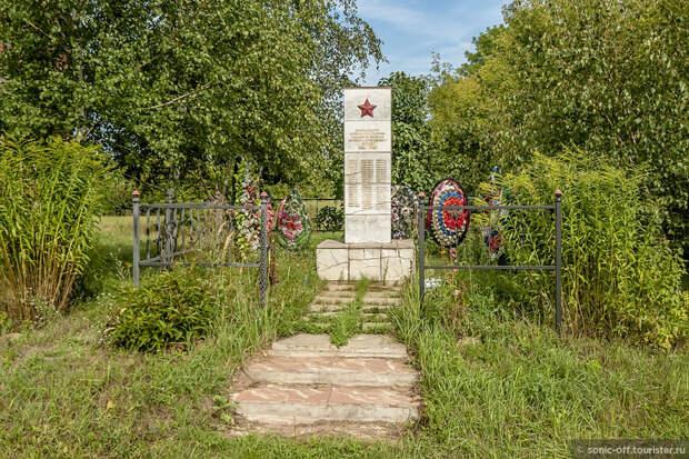 Памятник воинам села Пекшево, павшим на фронтах ВОВ.