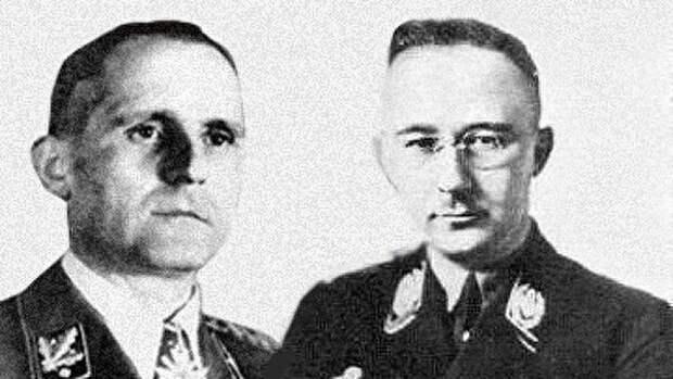 Генрих Гиммлер и Генрих Мюллер — «крёстные отцы» бандеровской УПА