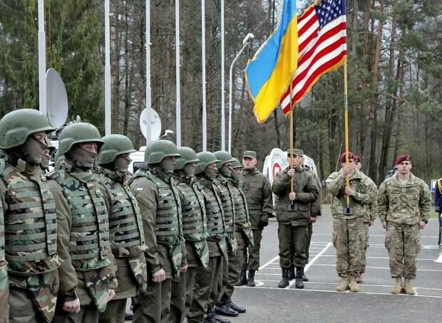 Военные США на Украине. Источник изображения: