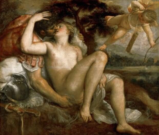 художник Тициан Вечеллио (Tiziano Vecellio) картины – 16