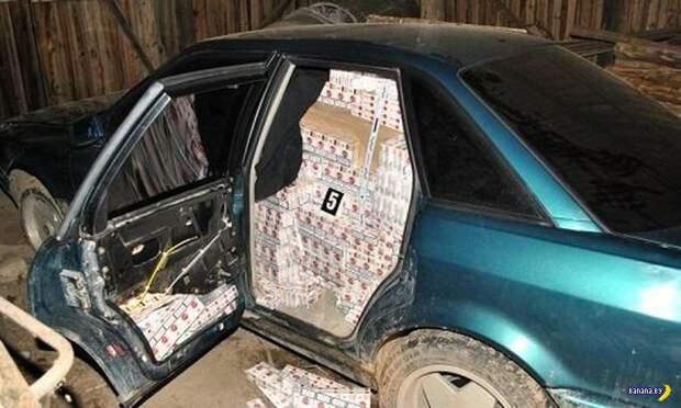 Лучшие идеи белорусских контрабандистов сигарет