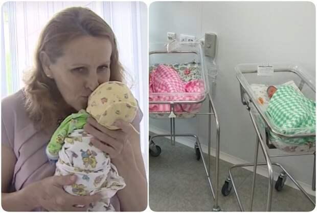 Жительница Владивостока родила тройню в 51 год: что будет с её детьми через 10 лет? ynews, беременность, новости, родила в 51 год, россия, фото