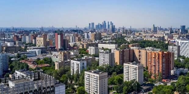Собянин рассказал о развитии крупных городских проектов во время пандемии. Фото: М. Денисов mos.ru