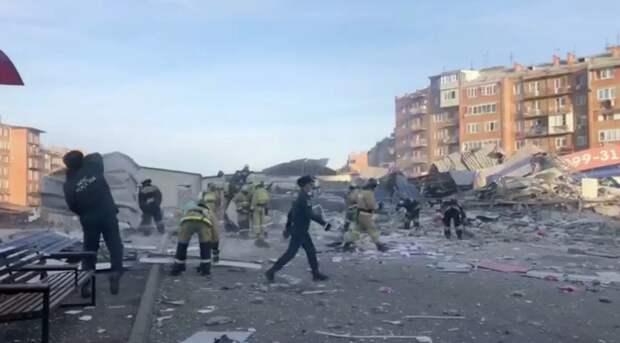 В супермаркете во Владикавказе прогремел мощный взрыв