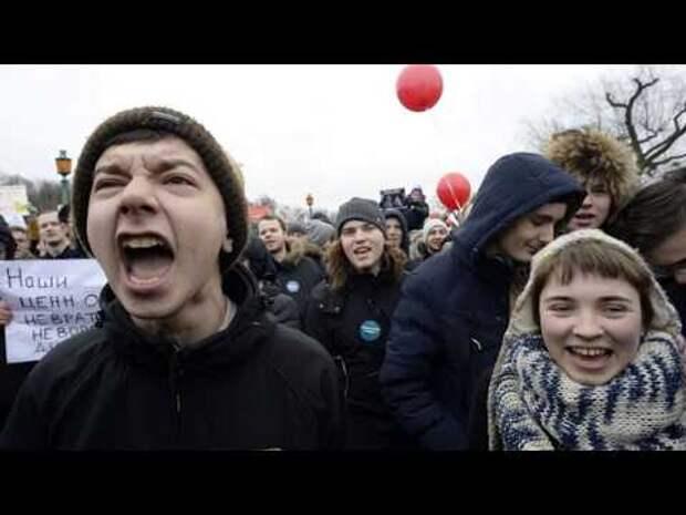 Итоги митингов 23 января – вся суть провального Навального и его приспешников