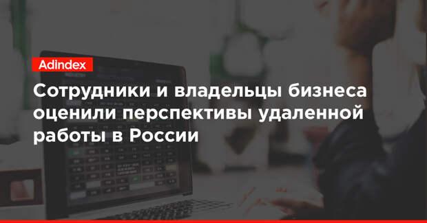 Сотрудники и владельцы бизнеса оценили перспективы удаленной работы в России
