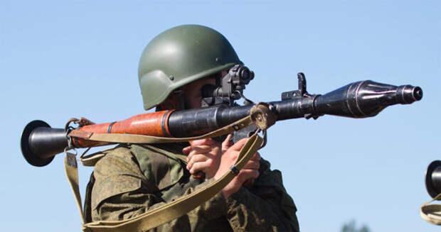 РПГ-7 заряжен тренажером. |Фото: huntsmanblog.ru.