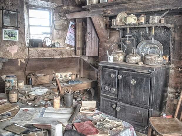 Как выглядит фермерский дом вИрландии, который сохранил обстановку вековой давности