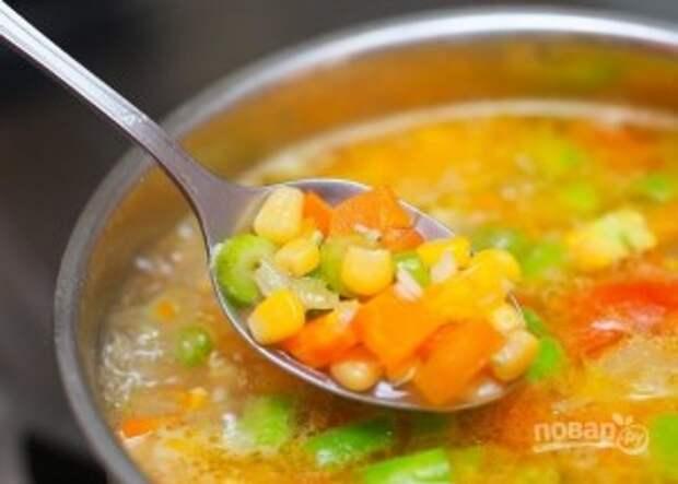 Вкусный овощной супчик - фото шаг 8