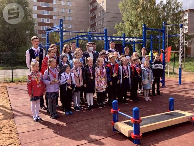 Нормы ГТО теперь можно сдать на территории школы № 78 в Ижевске