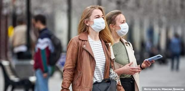 Власти Москвы оштрафовали более 160 тыс. нарушителей антиковидных мер. Фото: М. Денисов mos.ru