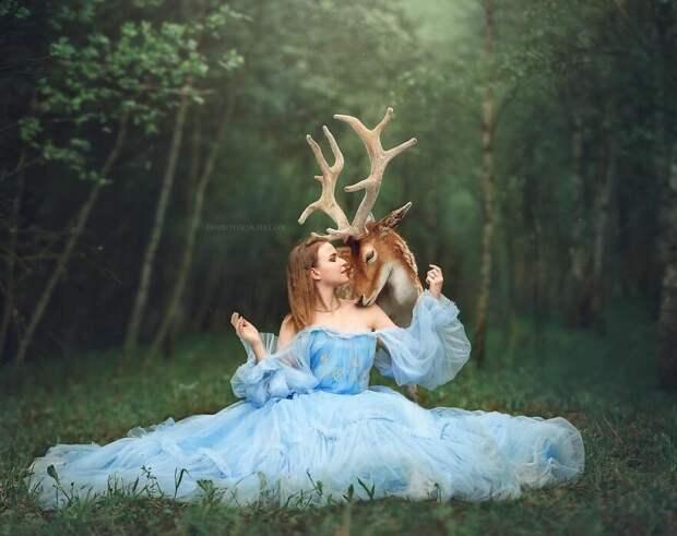 25 красивых фотографий, запечатлевших волшебную связь между людьми и животными