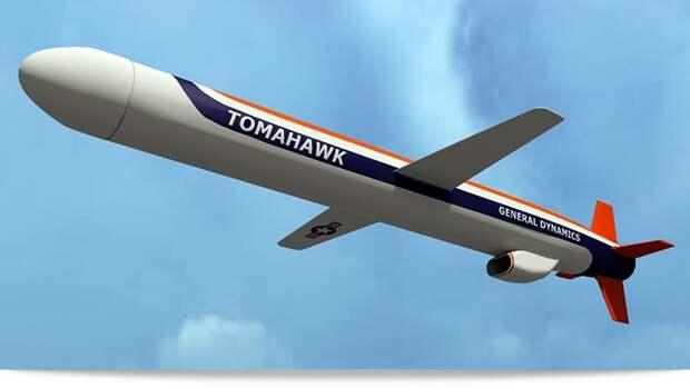 Крылатая ракета «Томагавк» — современный топор войны
