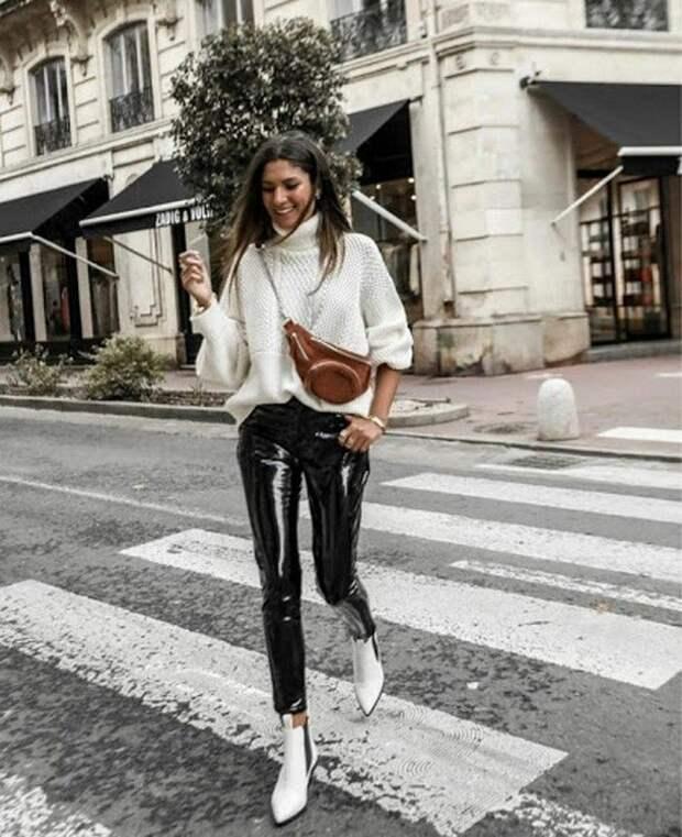 Леггинсы снова в моде: кому и как стоит их носить в зимний период 2020-2021
