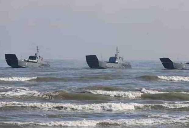«Такое происходит впервые!»: Россия массово перебрасывает десантные катера из Каспийского в Черное море…